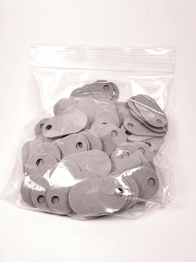 (FT145P-100) 145-P, Fiber Tag, Pkg of 100 (Select for Qty Disc)